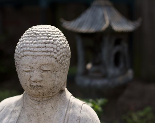 Buda boodschap van een gids